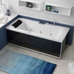 taille baignoire balneo tout savoir sur la baignoire baln 233 o leroy merlin
