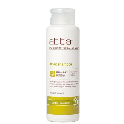 Soap And 3 And 1 Detox Wash by Abba Detox Shoo 8 45 Oz