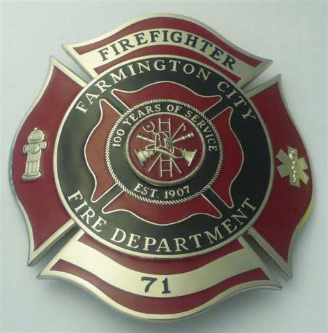 Handmade Badge - custom department badges firefighter badge design