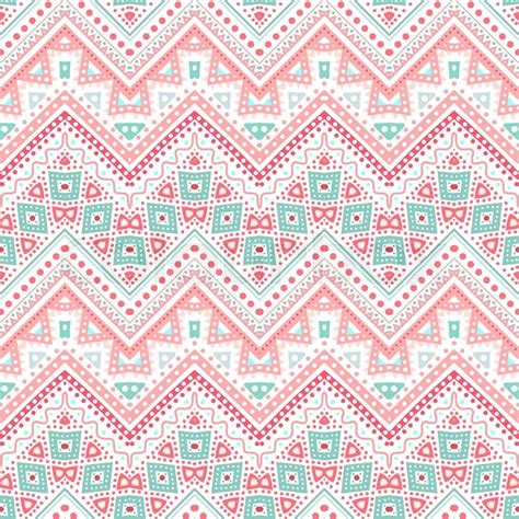 cute ethnic pattern tribal ethnic zig zag pattern vector illustration for