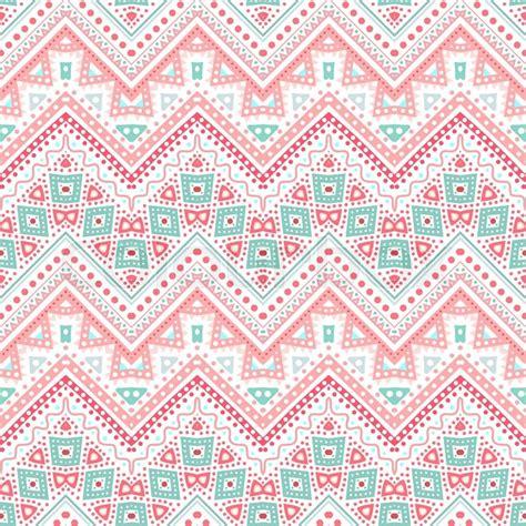 tribal pattern cute tribal ethnic zig zag pattern vector illustration for