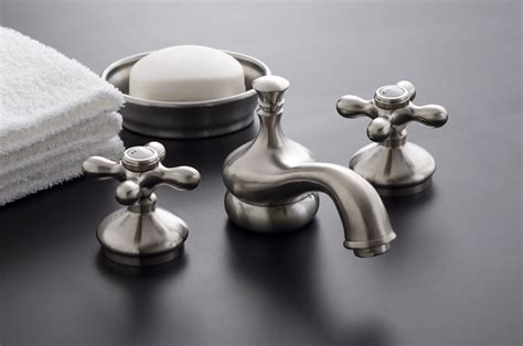 Bathroom Fixtures Sacramento Sacramento Widespread Lavatory Faucet With Brass Cross Point Handles