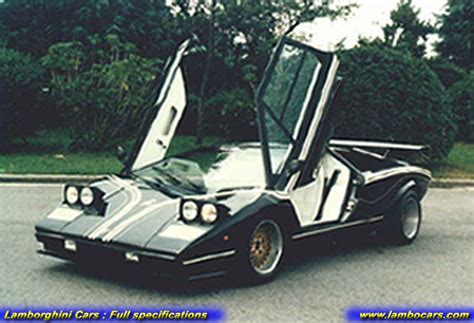 Custom Lamborghini Countach Lamborghini Countach Lp500 R High Resolution Images