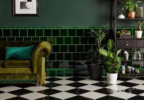 Original Style by Original Style Green Field Tile 15x15cm Tiles