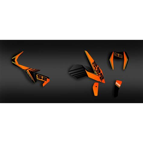 duke 690 dekor kit dekor feature series orange ktm 690 duke 2012 2017