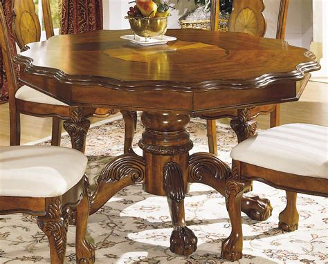 mediterranean dining room furniture homelegance mediterranean round dining table