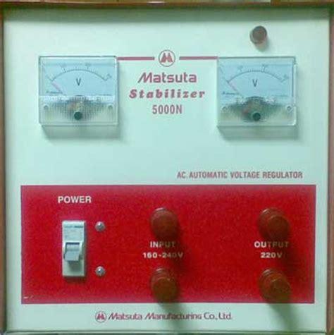 Stabilizer Oki Handal 3000 Watt Oki Stabilizer sumberstavol
