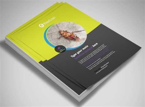 Pest Control Services Business Flyer Templates Mycreativeshop Com Metric Pest Brochure Template