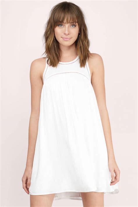 Dress Babydoll white day dress white dress babydoll mini dress day