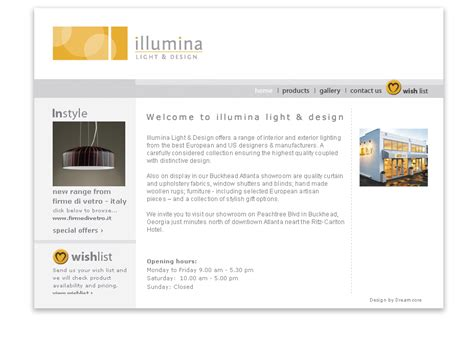 illumina address illumina lighting website dreamcore