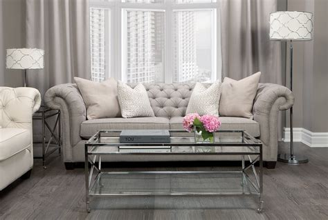 White Leather Chesterfield Sofas ? Modern Home Interiors