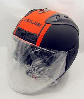 Zeus Z610 Matt Black zeus helmet matt black orange band
