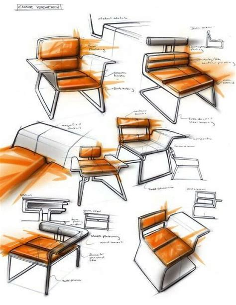 ladari design industrial design sketches chair furnituredesigns