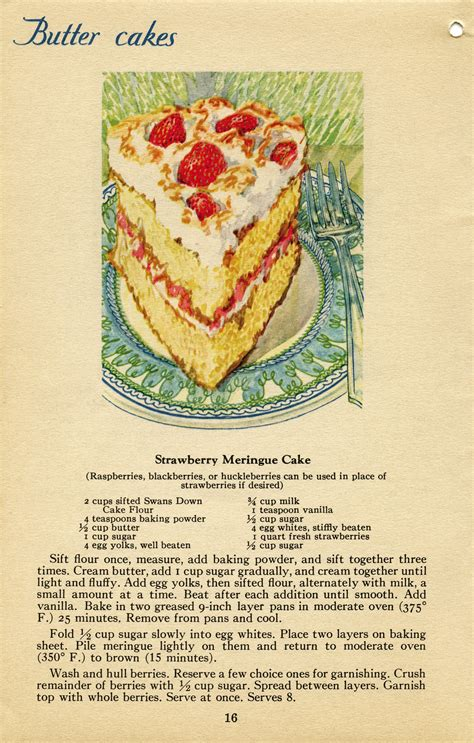 the ultimate strawberry cookbook the best cookbook for strawberry books strawberry meringue cake free vintage graphics