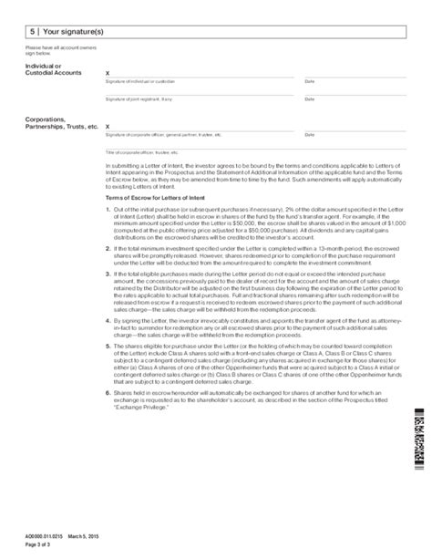 Letter Of Intent Document Template Letter Of Intent Form Sle Free