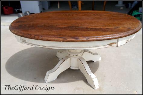 refurbished wood coffee table diy