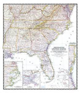 road map of southeastern united states southeastern united states southeast u s