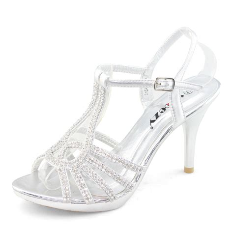 silver high heel shoes with rhinestones silver high heel shoes with rhinestones is heel