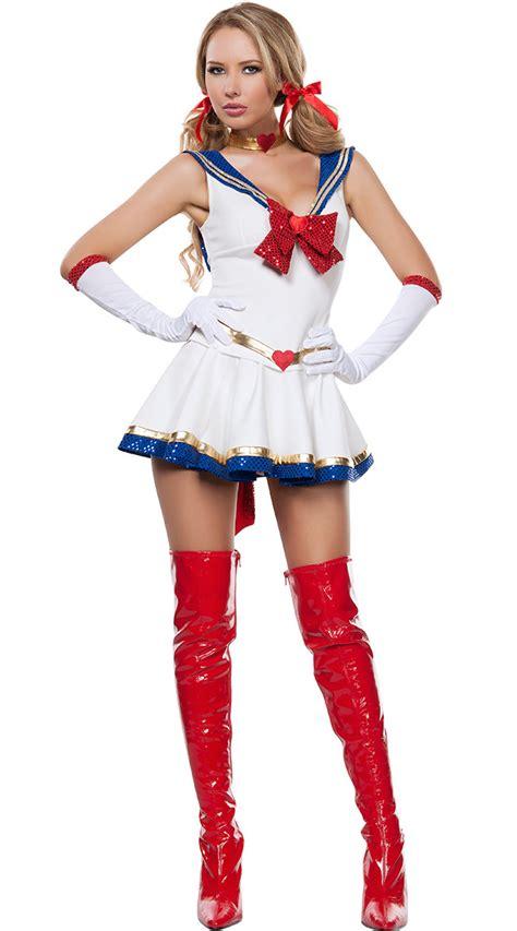 halloween sailor moon cosplay 3r66167 free shipping sexy