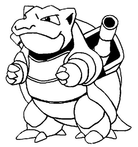 coloring pages pokemon blastoise drawings pokemon