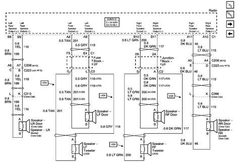 gmc wiring diagram 2008 gmc radio wiring diagram wiring diagram with