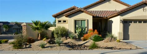 desert scape front yard garden inspiration