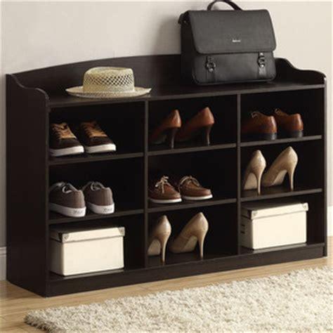 houzz shoe storage shoe storage rack cappuccino contemporary shoe