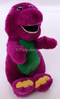 le chat noir boutique barney singing abc alphabet plush lovey doll dinosaur barney amp friends
