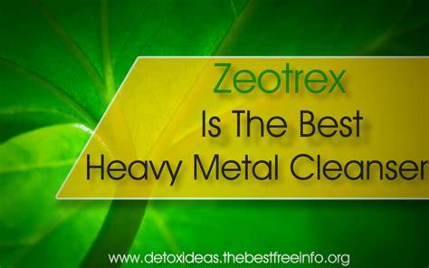 Heavy Metal Detox Tea by Zeotrex Heavy Metal Detox All Detox Cleansing