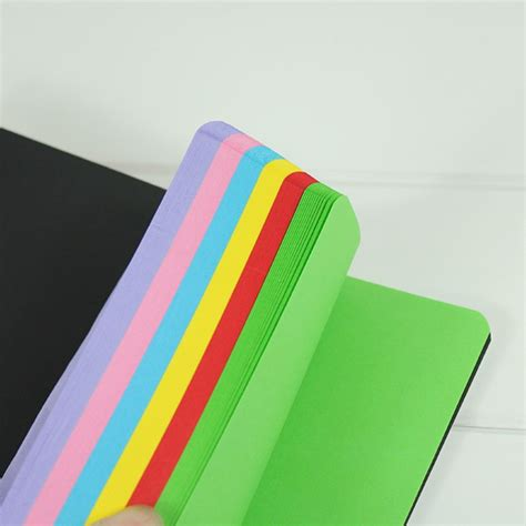 a5 custom softcover spiral notebook with color paper buy