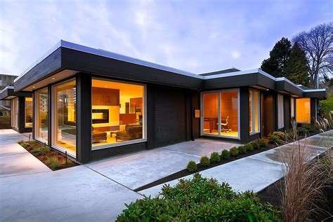 3 dramatic exteriors before and after modern home