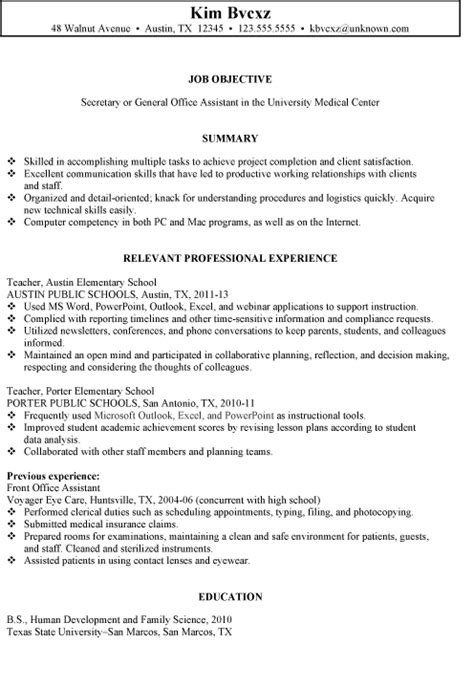 cover letter school office assistant