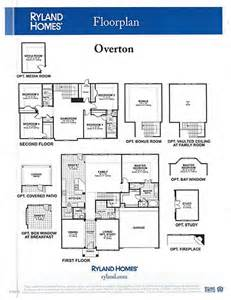 Ryland Home Floor Plans Ryland Homes Floor Plans Home Plan Po Et N 225 Padov Na T 233 Mu