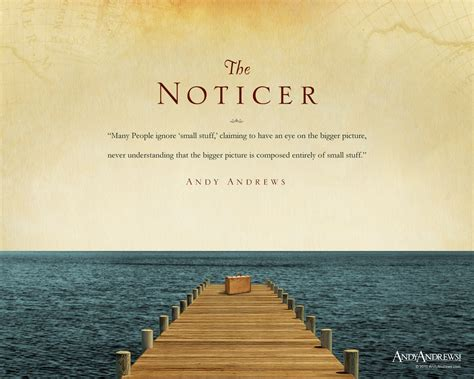 the noticer the noticer by new york times bestselling author andy andrews