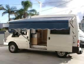 Awnings For Campervans Ford Transit Camper Conversion фото Nissanfan Ru