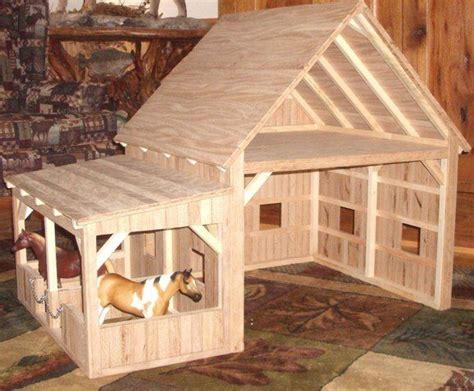 cute doll house barn doll stuff