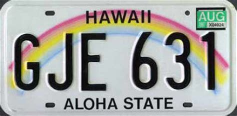 Vanity Plates Hawaii by The Best And Worst State License Plates Of The United States
