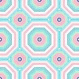 tribal pattern blue and pink tribal aztec seamless blue and pink pattern royalty free