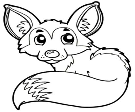 desert fox coloring page free coloring pages of male fox