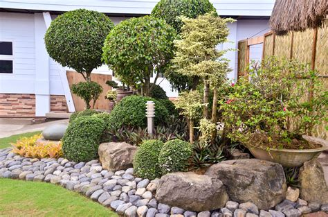large rocks for gardens how to landscape with rocks 6 steps with pictures wikihow