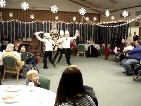 hot chocolate dance ward christmas party youtube
