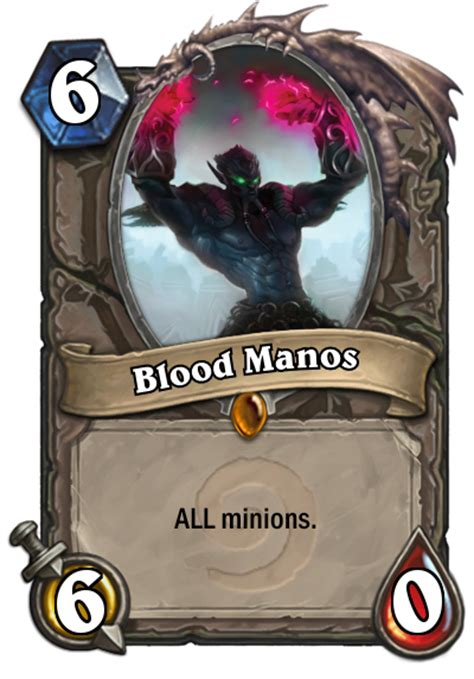 Awesome Fanmade Hearthstone Cards And Sundry