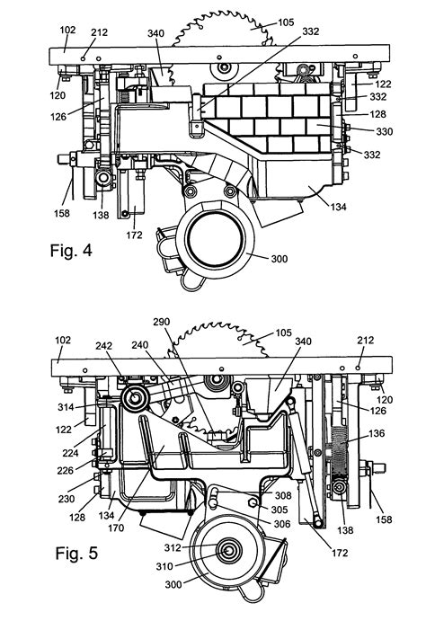 table saw safety mechanism patent us8122807 table saws with safety systems