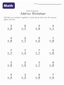 best 25 simple addition ideas on pinterest math
