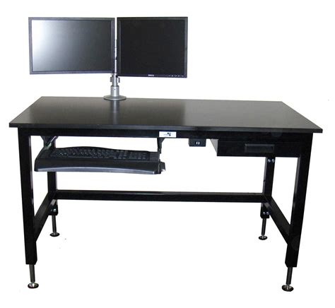 Variable Height Computer Desk Adjustable Height Table To Fit Your Comfort