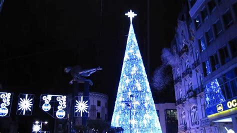 imagenes navidad vigo as 237 fue el encendido del 225 rbol de navidad en vigo youtube
