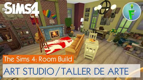how to make an art studio in your bedroom the sims 4 room build art studio taller de arte youtube
