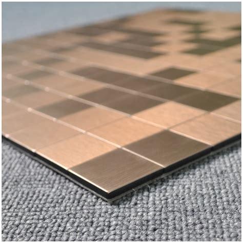 peel stick metal tiles for kitchen backsplashes copper peel stick metal tiles for kitchen backsplashes copper