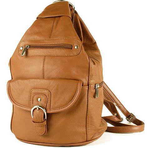 leather backpack purses womens leather backpack purse sling shoulder bag handbag 3 in 1 convertible new ebay