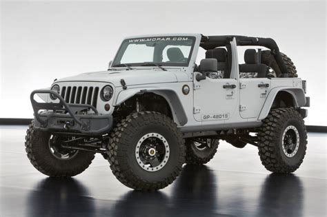 safari jeep wrangler jeep and mopar show their moab easter jeep safari concepts